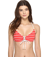 Polo Ralph Lauren - French Stripe Laced Front Bralette