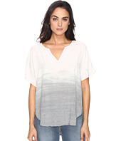Michael Stars - Haze Wash Modern Rayon Peasant Top
