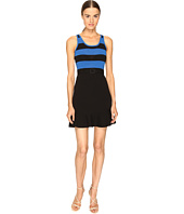 Boutique Moschino - Striped Top Belted Dress