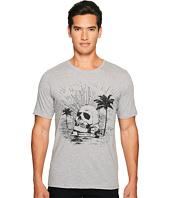 The Kooples - Black Palm Tree Skull T-Shirt