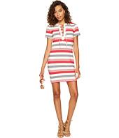 Jack by BB Dakota - Lijah Stripe Knit + Rib Trim Dress