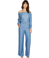 MICHAEL Michael Kors - Tencel Off Shoulder Jumpsuit