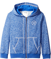 True Religion Kids - Marled French Terry Hoodie (Toddler/Little Kids)
