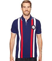 U.S. POLO ASSN. - Short Sleeve Striped Classic Fit Pique Polo Shirt