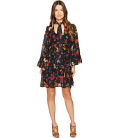 McQ - V-Neck Short Volume Dress