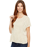 B Collection by Bobeau - Phoenix Oversized Peplum Knit Top