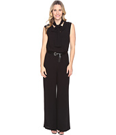 MICHAEL Michael Kors - Tie Neck Wide Leg Jumpsuit