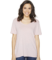 Michael Stars - Supima Cotton Slub Short Sleeve with Raw Edge