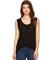 Michael Stars - Ripped Textured Jersey Muscle Tank Top
