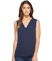 B Collection by Bobeau - Lily Pleat Back Woven Tank Top