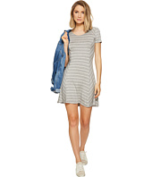 kensie - Striped Lightweight Viscose Spandex Dress KS6K7976