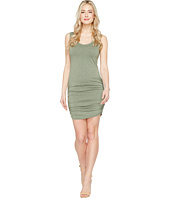 Michael Stars - Mavie Slub Jersey Tank Dress w/ Shirring