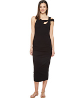 Michael Stars - Cross Over Strap Dress w/ Shirring