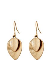 The Sak - Layered Petal Drop Earrings