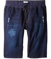 Hudson Kids - French Terry Pull-On Shorts in Power Blue (Big Kids)
