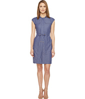 Ellen Tracy - Drawstring Dress