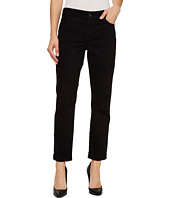 NYDJ - Jessica Relaxed Boyfriend in Black Destructed