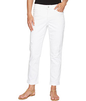 NYDJ - Jessica Relaxed Boyfriend in Optic White Destructed