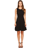 Kate Spade New York - Ponte Flounce Dress