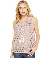 NYDJ - Cotton Silk Pleated Top