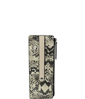 Lodis Accessories - Kate Exotic Credit Card w/ Zipper Pocket