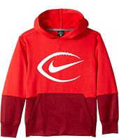 Nike Kids - KO Football Pullover Hoodie (Little Kids/Big Kids)