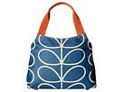 Giant Linear Stem Classic Zip Shoulder Bag