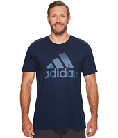 adidas - Big & Tall Badge of Sport Metal Mesh Tee