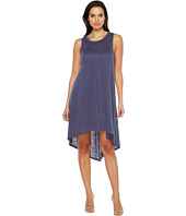 HEATHER - Linen Hi Lo Midi Tank Dress