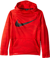 Nike Kids - Therma Training Printed Pullover Hoodie (Little Kids/Big Kids)