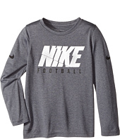 Nike Kids - Dry Long Sleeve Football T-Shirt (Little Kids/Big Kids)