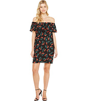 Vince Camuto - Ruffle Off Shoulder Tropic Spritz Dress