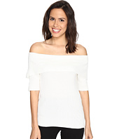 Brigitte Bailey - Ria Ribbed Off the Shoulder Sweater