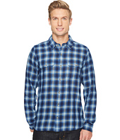 Toad&Co - Indigo Flannel Slim Long Sleeve Shirt