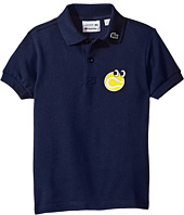 Lacoste Kids - Yazbouky Short Sleeve Googly Eyes Polo (Little Kids/Big Kids)
