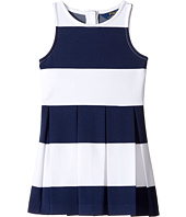 Polo Ralph Lauren Kids - Ponte-Stripe Dress (Toddler)