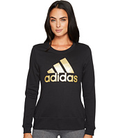 adidas - Badge of Sport Iridescent Fleece Crew