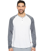 Reebok - J.J. Watt Baseball Long Sleeve Henley