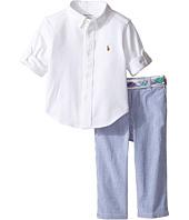 Ralph Lauren Baby - Oxford Mesh Seersucker Pants Set (Infant)