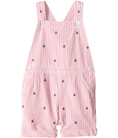 Ralph Lauren Baby - Seersucker Schiffli Shortalls (Infant)