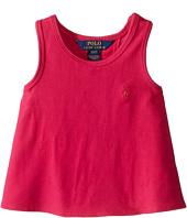 Polo Ralph Lauren Kids - Cotton Jersey Solid Tank Top (Toddler)