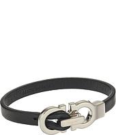 Salvatore Ferragamo - Doppio Gancio Leather Bracelet