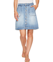 Jag Jeans - Florence Skirt Crosshatch Denim in Blue Issue