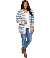 Lucky Brand - Plus Size Geo Border Cardigan
