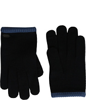 COACH - Color Block Knit Gloves