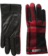 COACH - Mount Plaid Gloves