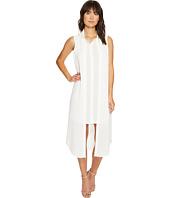 Calvin Klein - Sleeveless Long Texture Double Layer Blouse