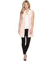 Calvin Klein - Suede Vest with Zips