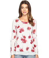 Lucky Brand - Open Floral Pullover Sweater