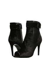 Just Cavalli - Velvet Peep Toe Buckle Bootie